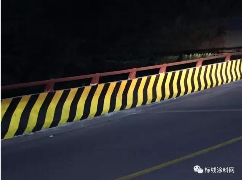 三部委课题X603高亮雨夜反光立面标记涂料