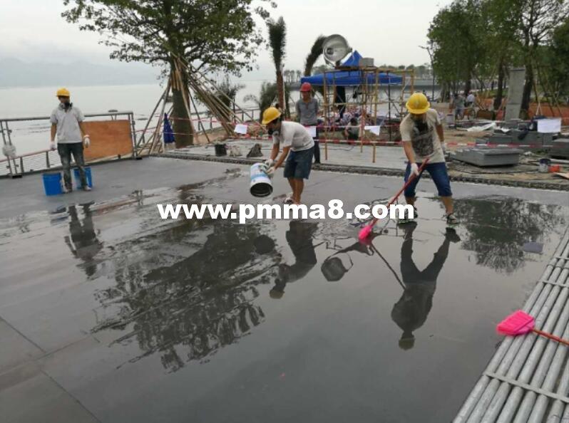 TLQ1701-2型钢桥梁防水用甲基丙烯酸甲脂树脂(PMMA)